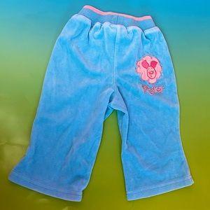 Disney Baby (12M) Velour Piglet Sweatpants